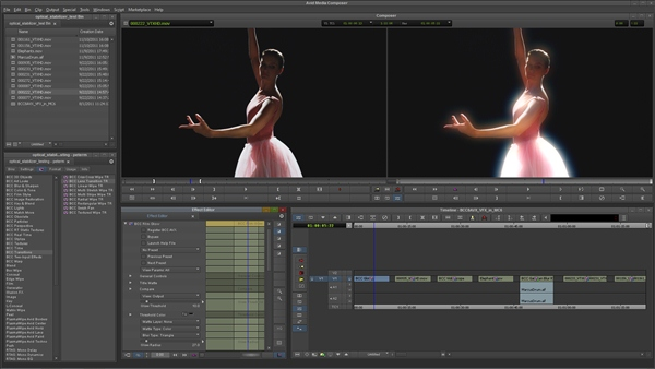 Creative Tools for Editing Visual Effects and Motion Graphics