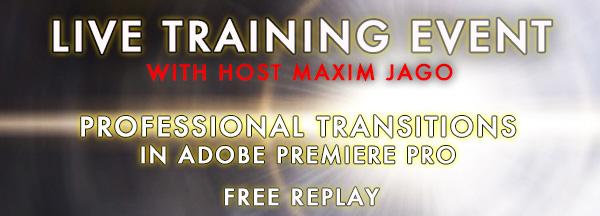 Adobe Premiere Pro Webinar