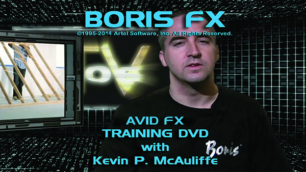 Avid FX training with Kevin P. McAuliffe