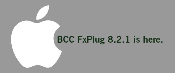 BCC FxPlug 8.2.1