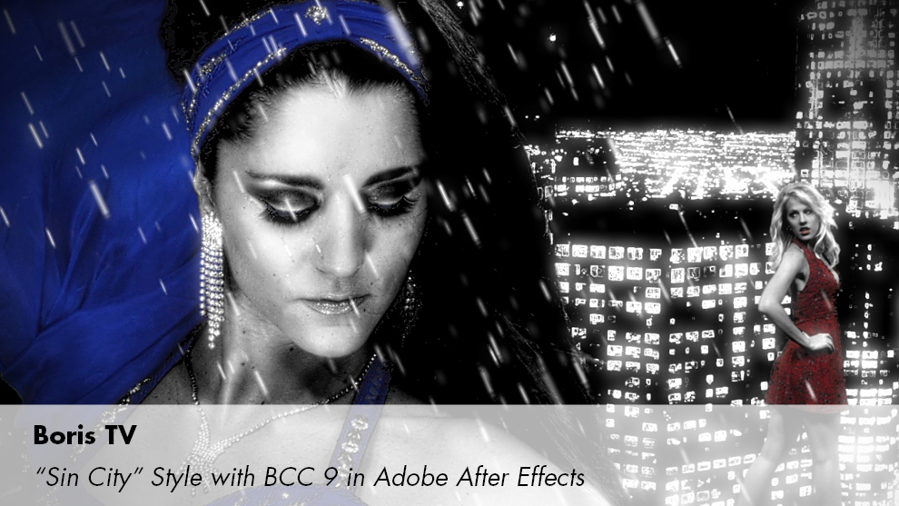 Sin City Style in Adobe After Effects