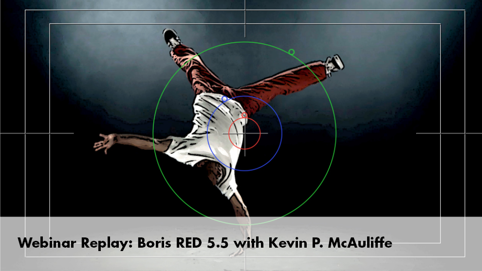 Boris RED 5.5 webinar replay